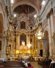 Главный алтарь костел св. Терезы