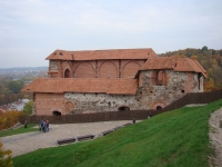 Развалины Верхнего замка