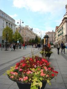Перекресток с улицей Вильняус