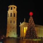 Главная елка Литвы
