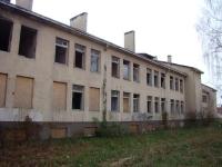 Заброшенное здание монастыря.