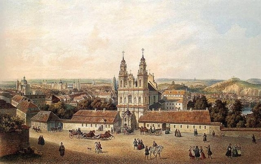 Костел Миссионеров (картина Зигмунта Вогеля)