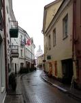 Улица Стиклю под Рождество