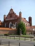Бернардинский костел и памятник Адаму Мицкевичу